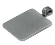 Stainless Steel Pendant Plates - Small