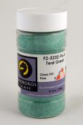 System 96 Fine Transparent Glass Frit - Teal Green