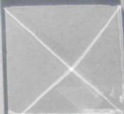 Box of 30 2.5cm x 2.5cm Square Pyramid Glass Bevels