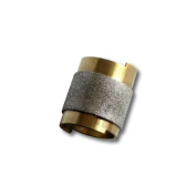 2.5cm Slip On Grinder Bit, Diamond Coated Copper Bit