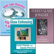 Glass with Vicki Payne Jewellery Crafting Series 3 Dvd Set