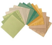 Garden Assortment Fusible Paper - Fifteen 13cm Sheets
