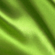 Stretch Charmeuse Satin Lime Fabric