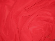 RED Chiffon Fabric 110cm By the Yard