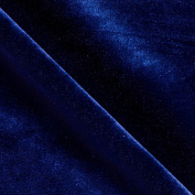 Stretch Velvet Royal Fabric