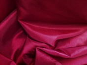 Maroon Taffeta Fabric 150cm Wide By the Yard