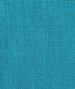 Bahama Turquoise Burlap Fabric - by the Yard