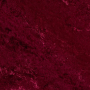Stretch Panne Velvet Burgundy Fabric