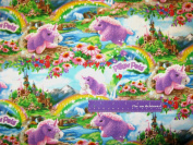 110cm Wide Pillow Pets Unicorn Cotton Fabric BY THE HALF YARD