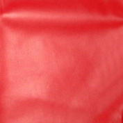 140cm Wide Faux Soft Skin Leather Red Fabric By The yard