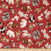 Where The Toys Are Stuffed Animal Toss Red Fabric