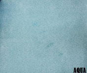 """150cm MICRO SUEDE FABRIC """"AQUA"""" FOR UPHOLSTERY (PASSION SUEDE) BTY"""