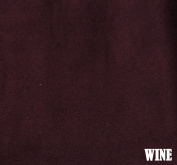 "150cm MICRO SUEDE FABRIC ""WINE"" FOR UPHOLSTERY (PASSION SUEDE) BTY"