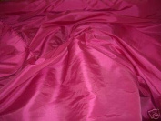 CERISE/HOT PINK Silk Taffeta Curtain & Bridal wear Fabric