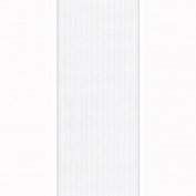 Berwick 1.9cm Wide by 100-Yard Spool Flora Satin Craft Ribbon, White