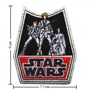 Star Wars Retro Embroidered iron-on/sew-on patch