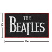 The Beatles Music Band Embroidered iron-on/sew-on patch
