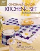 Gingham Garden Kitchen Set