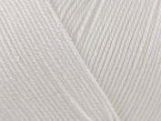 Patons 100% cotton 4 ply - white