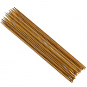 14 Sizes Afghan Carbonised Bamboo Crochet Hooks 3.0-10.0mm