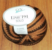 On Line Linie 194 (Solo) Yarn / Multi Colour Tan and Brown