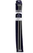 13.8 In/35cm Al Single Pt Knit Needle-4.0mm . Zise 6