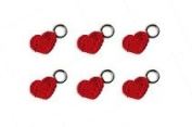 Lantern Moon Handcrafted Heart Knitting Stitch Markers