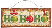 Dimensions Needlecrafts Counted Cross Stitch, Ho Ho Ho Ornament