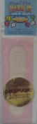 14-Count Cross Stitch CardMark - Greeting Card & Bookmark - Pink