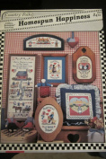 Homespun Happiness Country Folks CF1 Cross Stitch