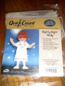Quick Count Plastic Canvas, Nighty Night Molly, .  Paper Dolls but Better, New in Package