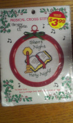 Large Musical Cross Stitch Ornament