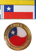 Chile FIFA World Cup Metal Lapel Pin Badge New