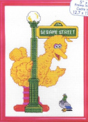Big Bird Cross Stitch Kit with Frame