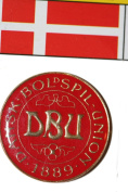 Dansk Boldspil Union DBU FIFA World Cup Metal Lapel Pin Badge New