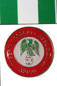 Nigeria FIFA World Cup Metal Lapel Pin Badge New
