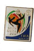 South Africa FIFA World Cup 2010 Metal Lapel Pin Badge New