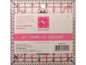 EZ Quilting 882105001 SIMPLI-EZ Square Acrylic Tool, 11cm