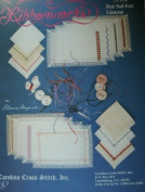 RIBBONWORKS CROSS STITCH GRAPHS FOR SAL-EM LINENS OR OTHER PROJECTS LEAFLET 54 FROM CAROLINA CROSS STITCH, INC.