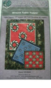WREATH TABLE TOPPER - 110cm SQUARE OR WALL HANGING 70cm SQUARE - QUILTING PATTERN FROM HEART TO HAND