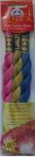 Pearl Cotton Skeins Kit - Set No. 017 - Colour Nos. 602, 734, 824