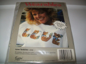 LOVE TEDDIES - WEARABLES TO CROSS STITCH 60368 - NEW
