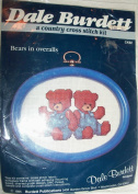 Bears in Overalls Counted Cross Stitch Kit by Dale Burndett - CK92