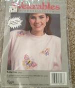 Butterflies - Wearables to Cross Stitch Kit #60268
