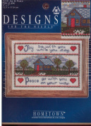 Joy & Peace Hometown Counted Cross Stitch Kit