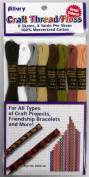 Allary Craft Thread / Floss 8 Skeins, 8 Yards Per Skein