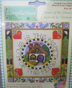 Heart of the Home Counted Cross Stitch Kit