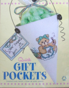 Quick Gift Pockets Counted Cross Stitch Kit - Bear
