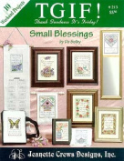 Small Blessings (TGIF) - Cross Stitch Pattern