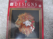 Lion and Lamb Counted Cross Stitch Kit